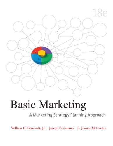 9780077473631: Basic Marketing: A Marketing Strategy Planning Approach