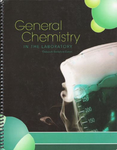 9780077474041: General Chemistry in The Laboratory (Learning Solutions)