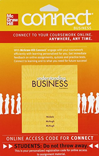 9780077474348: Connect Business with LearnSmart 1 Semester Access Card to accompany Understanding Business