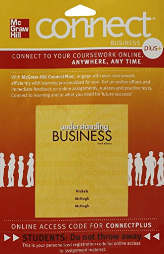 9780077474492: Connect Plus Business with LearnSmart 1 Semester Access Card to accompany Understanding Business