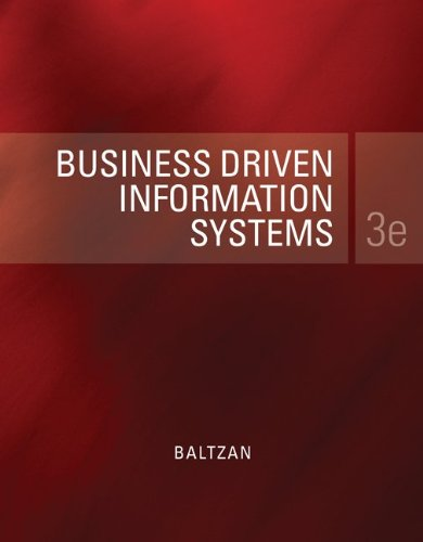 9780077475284: Loose-Leaf Business Driven Information Systems