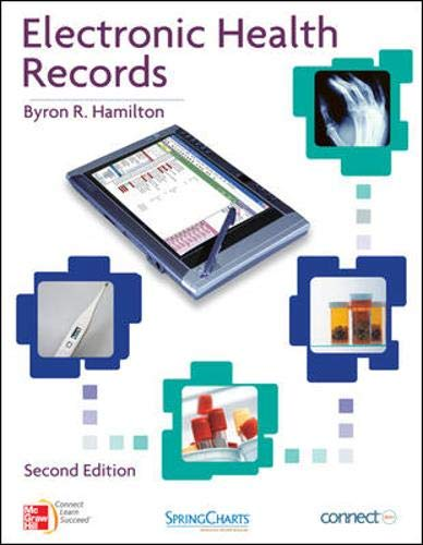 9780077477554: ELECTRONIC HEALTH RECORDS