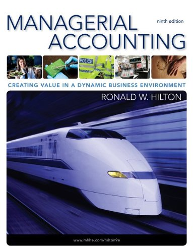 9780077477585: Managerial Accounting with Connect Plus