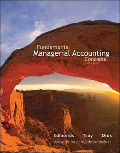 9780077477592: Fundamental Managerial Accounting Concepts with Connect Plus