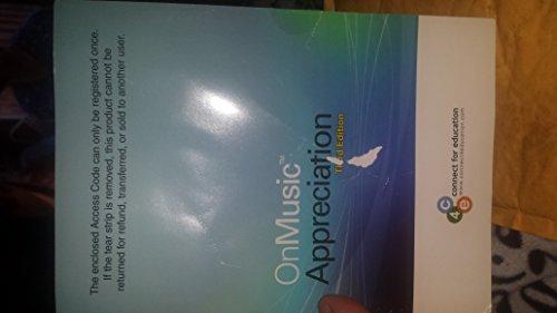 9780077479633: ONMUSIC APPRECIATION 3.0