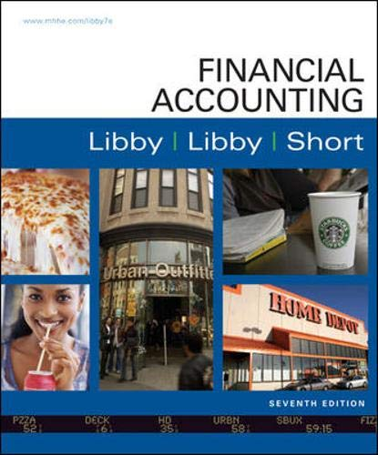 Financial Accounting with Connect Access Card: Libby, Robert; Libby, Patricia; Short, Daniel