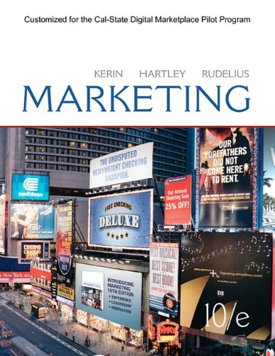 Marketing: Roger Kerin, Steven