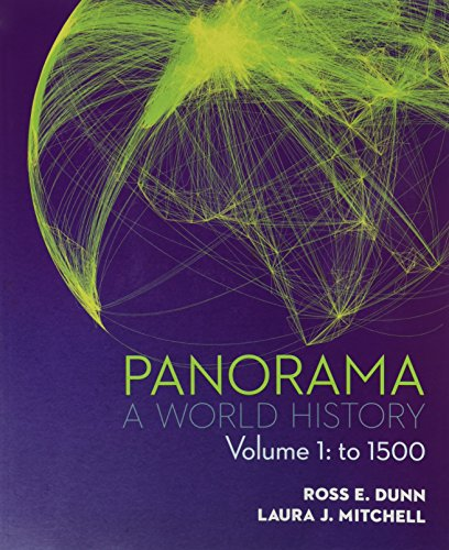 9780077482329: Panorama: A World History Volume 1: To 1500
