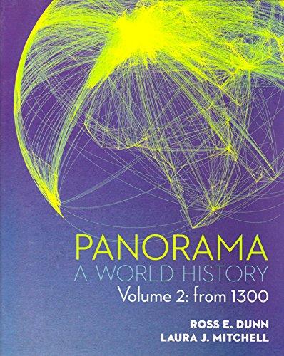9780077482336: Panorama: A World History