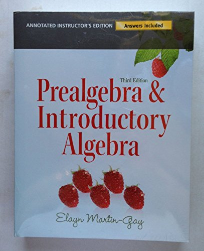 9780077483647: Introductory Algebra with P. O. W. E. R. Learning Annotated Instructor Edition