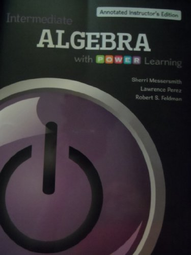9780077483784: Intermediate Algebra with P.O.W.E.R. Learning Annotated Instructor's Edition
