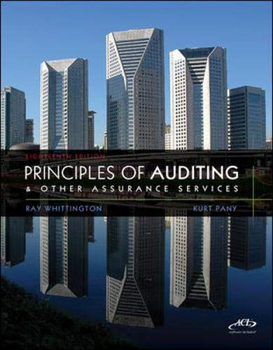 9780077486273: Principles of Auditing & Other Assurance Services