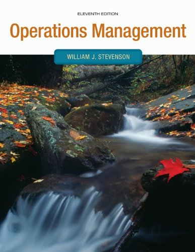 Loose-leaf Operations Management (9780077487126) by William Stevenson