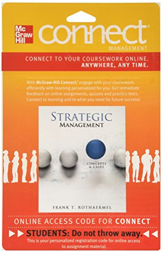 9780077487324: Connect Access Card 1-Semester for Strategic Management