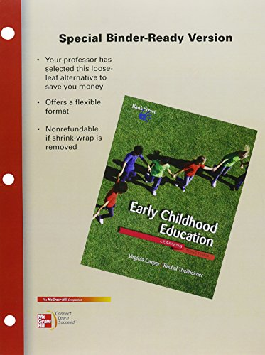 9780077487393: Looseleaf for Early Childhood Education: Learning Together