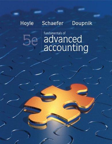 9780077489397: Loose-Leaf Fundamentals of Advanced Accounting