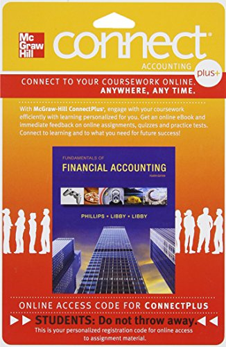 9780077489472: Connect 1-Semester Access Card for Fundamentals of Financial Accounting