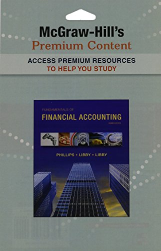 9780077489502: Premium Content Access Card for Fundamentals of Financial Accounting