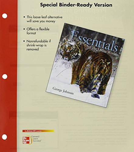 9780077491031: Loose Leaf Version for Essentials of The Living World