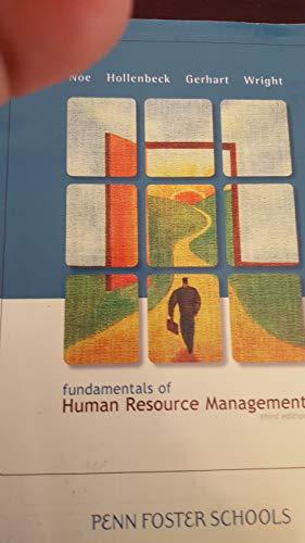 9780077492427: Fundamentals of Human Resource Management