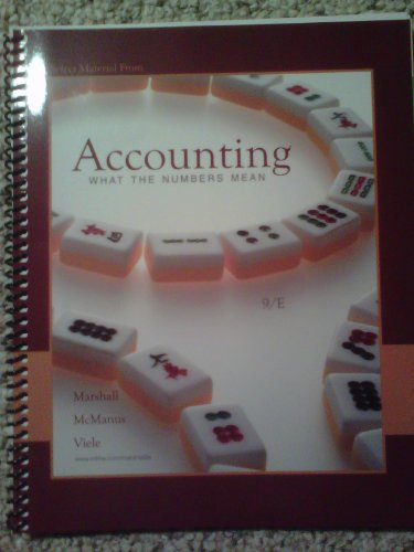 9780077492472: ACCOUNTING:WHAT NUMBERS MEAN..