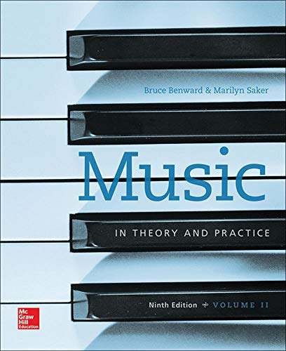 9780077493325: Music in Theory and Practice Volume 2 (B&B Music)