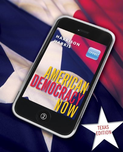 9780077493455: American Democracy Now Texas Edition with Connect PLUS American Government w/ LearnSmart