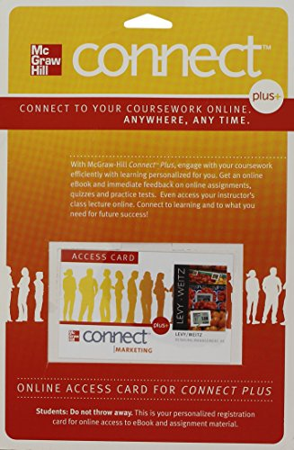 9780077494223: Connect Plus Marketing 1 Semester Access Card for Retailing