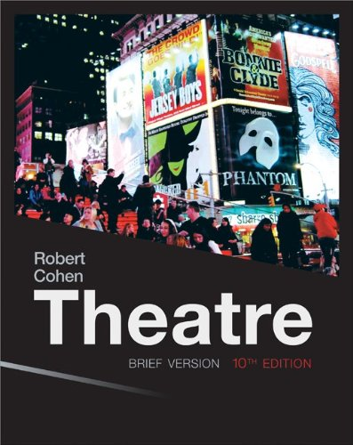 Theatre: Brief (Loose Pgs): Cohen