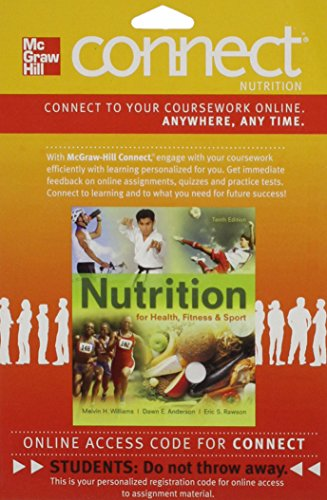 9780077495947: Connect Nutrition 1 Semester Access Card for Nutrition for Health, Fitness and Sport