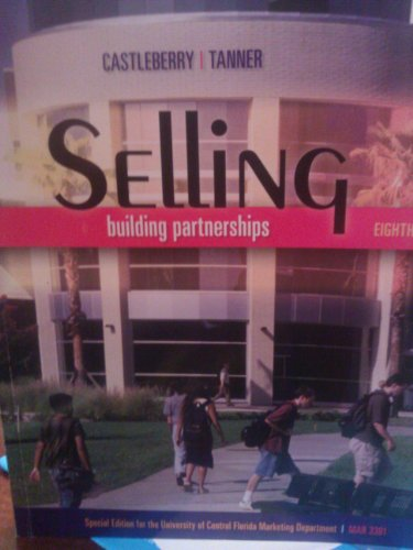 9780077495961: SELLING:BUILDING PARTNERSHIPS