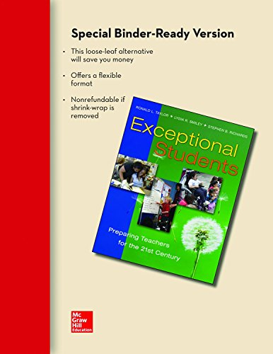 9780077497439: Looseleaf for Exceptional Students: Preparing Teachers for the 21st Century