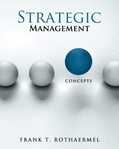 9780077497446: Strategic Management: Concepts