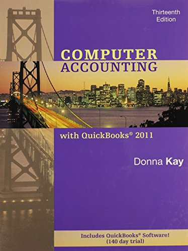 9780077499860: Computer Accounting with Quickbooks 2011 MP -wQBPremAccCD, wStudent CD