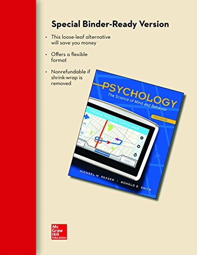 9780077499990: Looseleaf for Psychology: The Science of Mind and Behavior