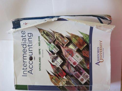 9780077500375: Intermediate Accounting for Ashford University 6th Edition