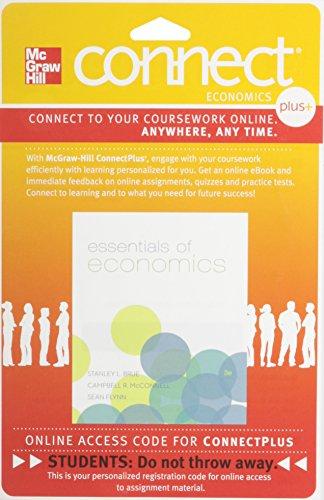 9780077502102: Connect 1-Semester Access Card for Essentials Economics