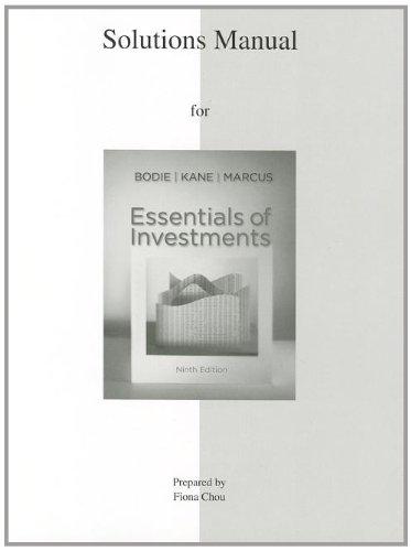 Essentials of Investments: Bodie, Zvi