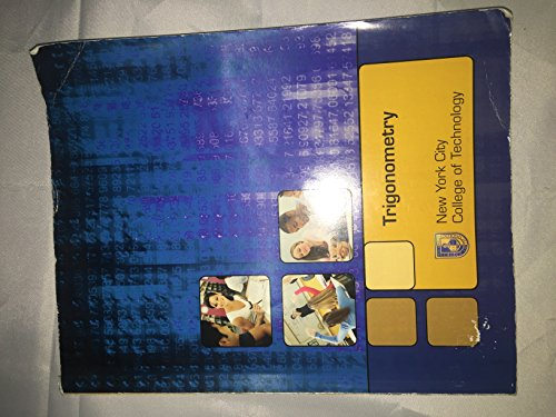 9780077503406: Trigonometry (Custom) (New York City College of Technology Custom)