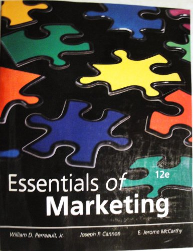 9780077503833: Essentials of Marketing 12th Edition (A Marketing Strategy Planning Approach, 12)