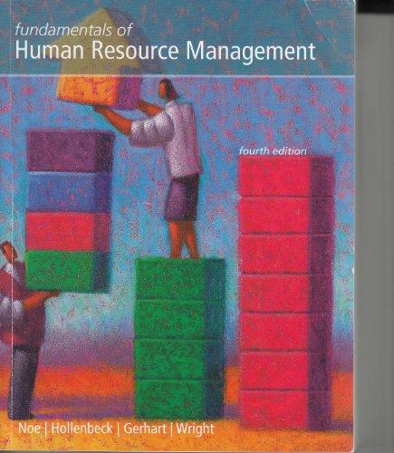 9780077503888: Fundamentals of Human Resource Management