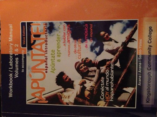 9780077504076: apuntate workbook volumes 1&2