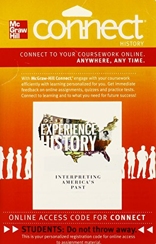 9780077504670: Connect History 1S w/ LearnSmart Access Card for Experience History