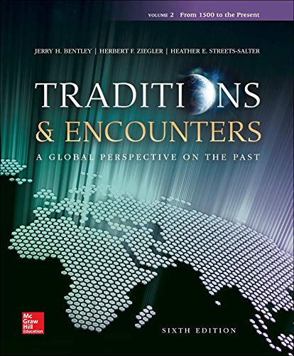 9780077504915: Traditions & Encounters: A Global Perspective on the Past, Vol.2