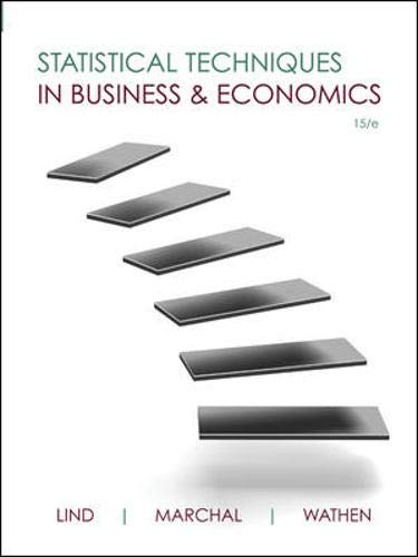 9780077505011: Statistical Techniques in Business & Economics with Connect Plus