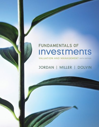 9780077505042: Loose-leaf Fundamentals of Investments with Stock-Trak card