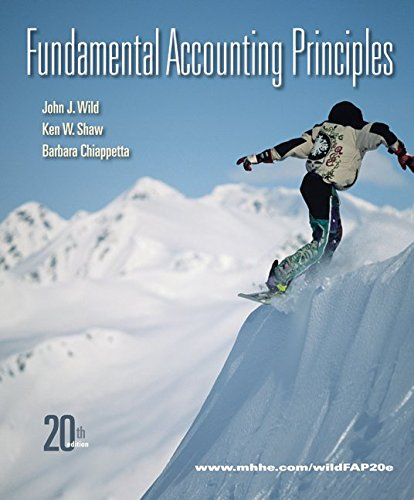 Fundamental accounting principles connect by john wild abebooks fandeluxe Images