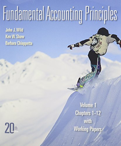 9780077506032: Fundamental Accounting Principles Vol 1 Softcover with Conect Plus