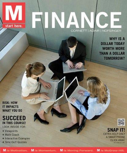 9780077506056: M: Connect Plus Finance