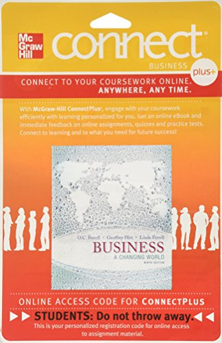 9780077506605: Connect 1-Semester Access Card for Business: A Changing World